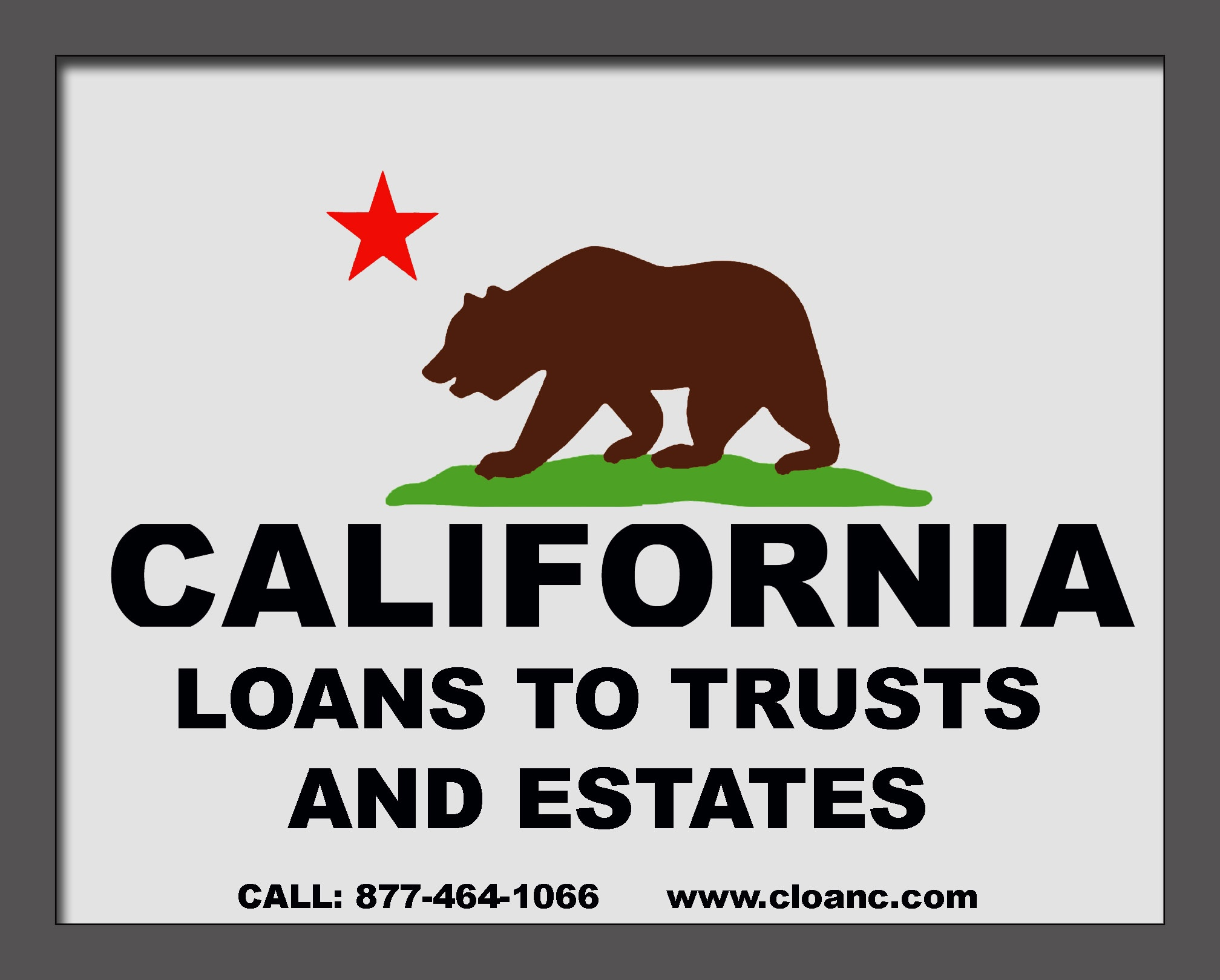 California Loans to Trusts, Estates and On Homes Being Inherited From A Parent.