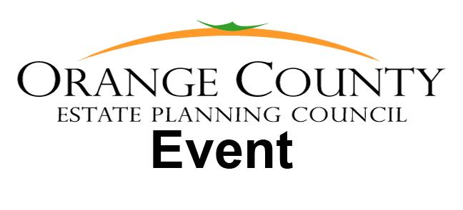 Orange County Estate Planning Event